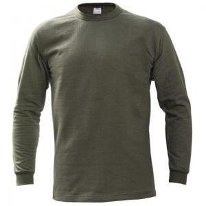 μπλούζα φούτερ μονόχρομη λαδί