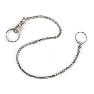 Αλυσίδα μεταλλική με κρίκο για τα κλειδιά ή την σφυρίχτρα 1