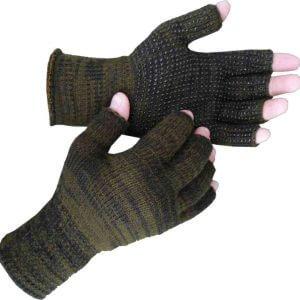 Γάντια Πλεκτά ΚΔ PVC 2 Χρώματα της Armyrace χακί