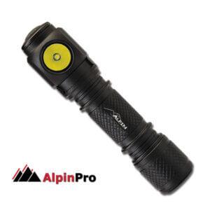 Φακός Χειρός-Κεφαλής ΑlpinPro LR-70A1 ΑΔΙΑΒΡΟΧΟΣ LED (1xAAA)