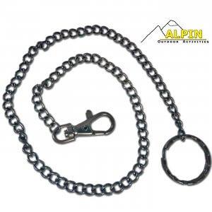 Αλυσίδα Κλειδιών 51mm Black Plated