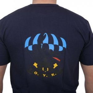 EAGLE T-shirt (Ο.Υ.Κ.) Με Στάμπα Μπλε 2