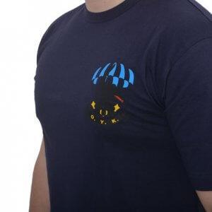 EAGLE T-shirt (Ο.Υ.Κ.) Με Στάμπα Μπλε
