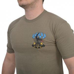 EAGLE T-shirt (Ο.Υ.Κ.) Με Στάμπα Χακί