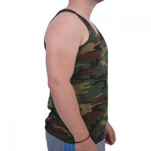 MIL-TEC Αμάνικο T-shirt Αμερικάνικης Παραλλαγής