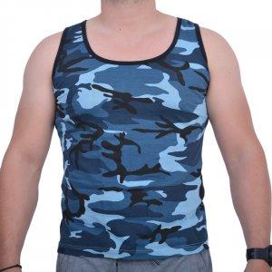 MIL-TEC T-shirt Μπλε Παραλλαγή